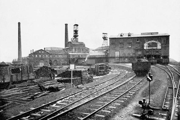 3-Zeche-Schleswig-1-und-2-1905-Hoesch-Archiv